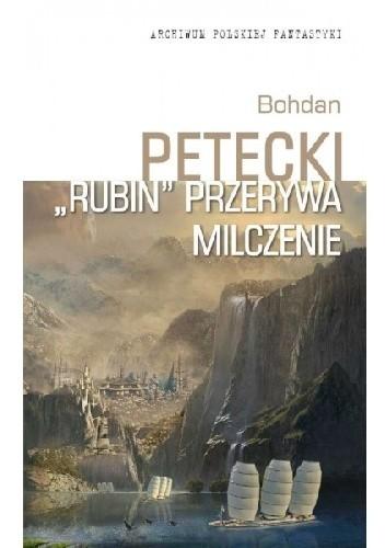 """Okładka książki """"Rubin"""" przerywa milczenie"""
