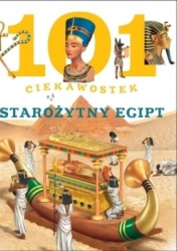 Okładka książki 101 ciekawostek starożytny egipt