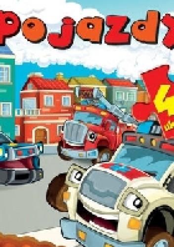 Okładka książki Pojazdy. 4 układanki