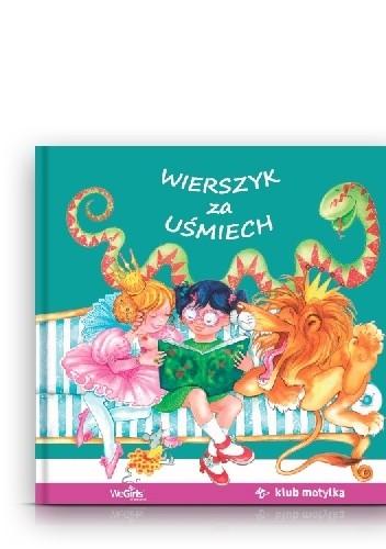 Okładka książki Wierszyk za uśmiech