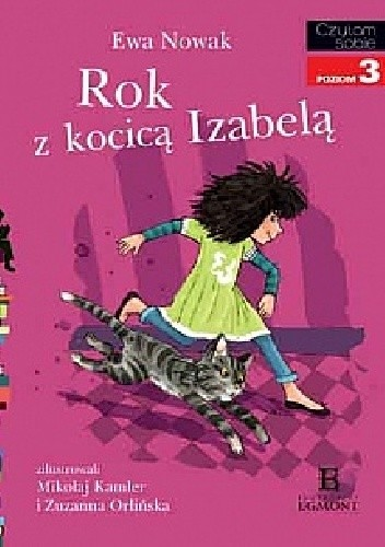 Okładka książki Rok z kocicą Izabelą