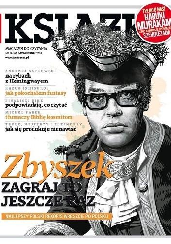 Okładka książki Książki. Magazyn do czytania, nr 3 (18) / październik 2015