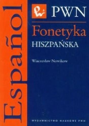 Okładka książki Fonetyka hiszpańska