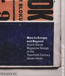 Okładka książki MERz TO EMIGRE AND BEYOND - na zamówienie.