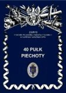 Okładka książki 40 Pułk Piechoty