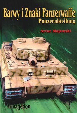 Okładka książki Barwy i znaki Panzerwaffe cz.2