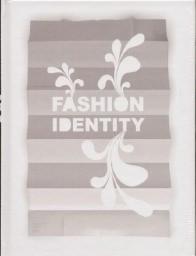 Okładka książki Fashion Identity