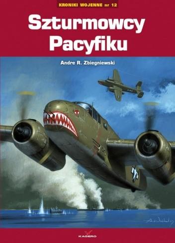 Okładka książki Szturmowcy Pacyfiku / Kroniki wojenne nr 12