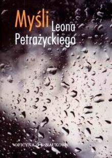 Okładka książki Myśli Leona Petrażyckiego