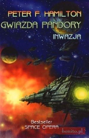 Okładka książki Gwiazda Pandory 2. Inwazja