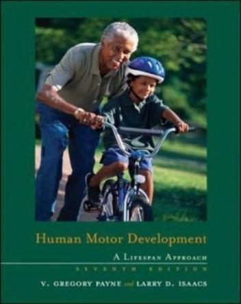 Okładka książki Human Motor Development