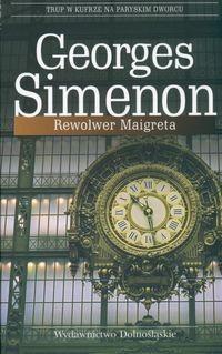 Okładka książki Rewolwer Maigreta