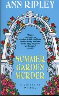 Okładka książki Summer Garden Murder