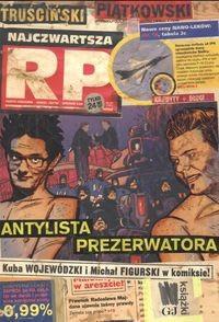 Okładka książki Najczwartsza RP Antylista Prezerwatora