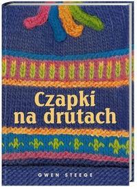 Okładka książki Czapki na drutach