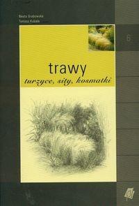 Okładka książki Trawy turzyce sity kosmatki