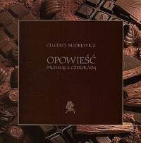 Okładka książki Opowieść pachnąca czekoladą.