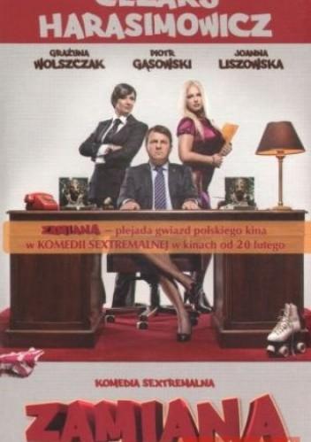 Okładka książki Zamiana. Komedia sextremalna