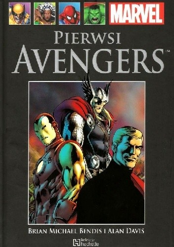 Okładka książki Pierwsi Avengers