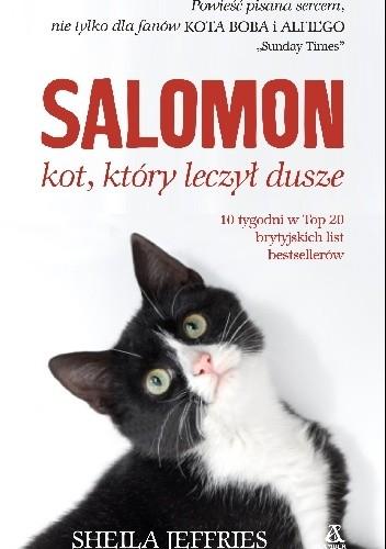 Okładka książki Salomon – kot, który leczył dusze