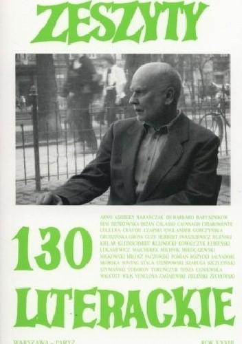 Okładka książki ZESZYTY LITERACKIE nr 130
