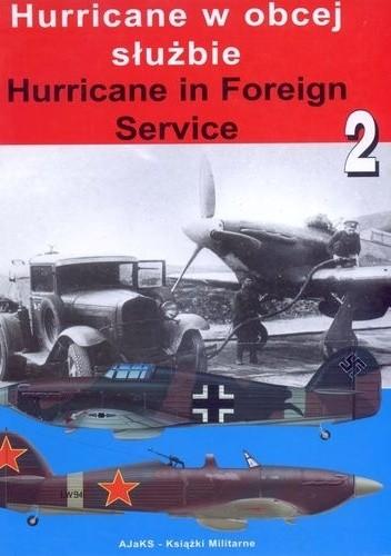 Okładka książki Hurricane w obcej służbie