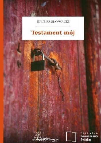 Okładka książki Testament mój