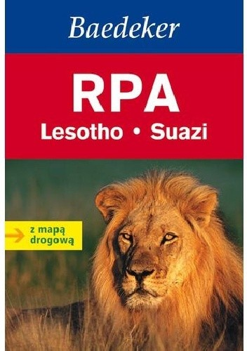 Okładka książki RPA. Przewodnik (Baedeker)
