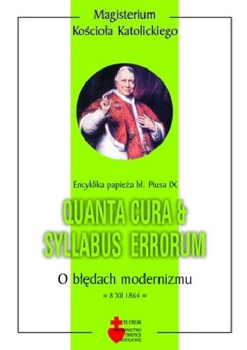 Okładka książki Quanta cura & Syllabus errorum. O błędach modernizmu