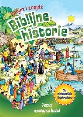 Okładka książki Jezus spotyka ludzi
