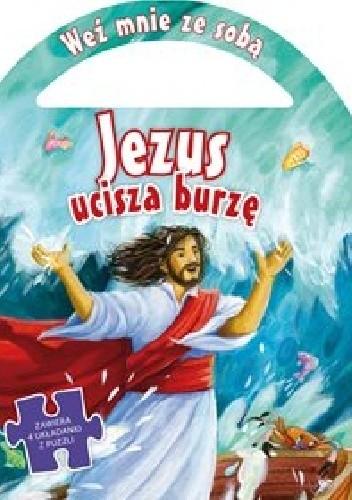 Okładka książki Jezus ucisza burzę