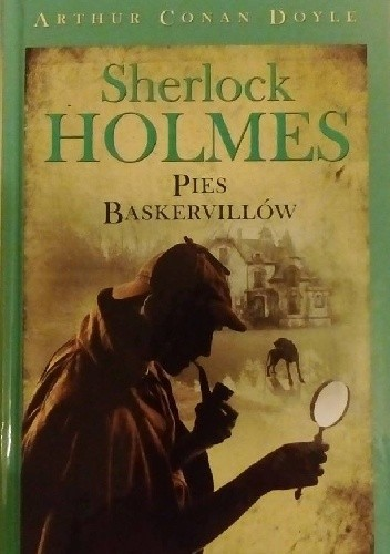 Okładka książki Sherlock Holmes. Pies Baskervillów