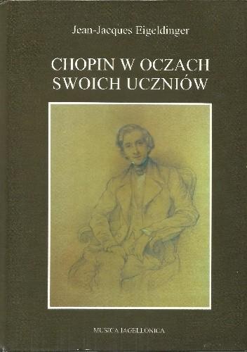 Okładka książki Chopin w oczach swoich uczniów
