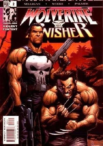 Okładka książki Wolverine/Punisher #2 - Part Two: The Lady, The Atheist, and The Demon