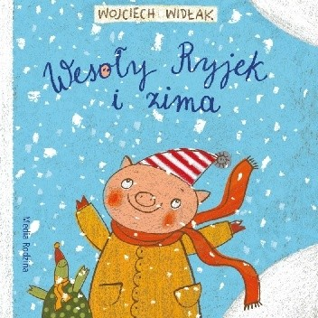 Okładka książki Wesoły Ryjek i zima
