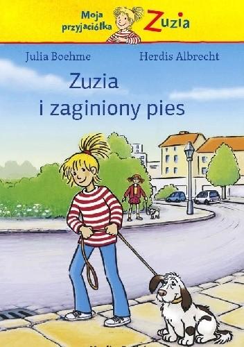 Okładka książki Zuzia i zaginiony pies
