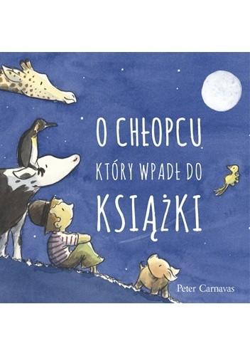 Okładka książki O chłopcu, który wpadł do książki