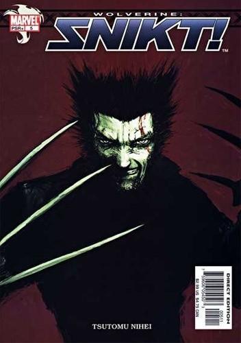 Okładka książki Wolverine: Snikt! #5