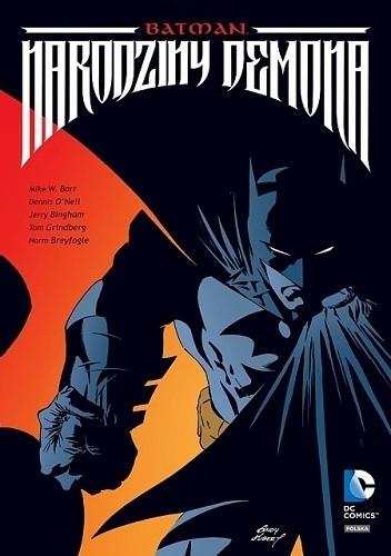 Okładka książki Batman: Narodziny Demona