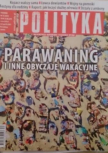 Okładka książki Polityka, nr 34/2015