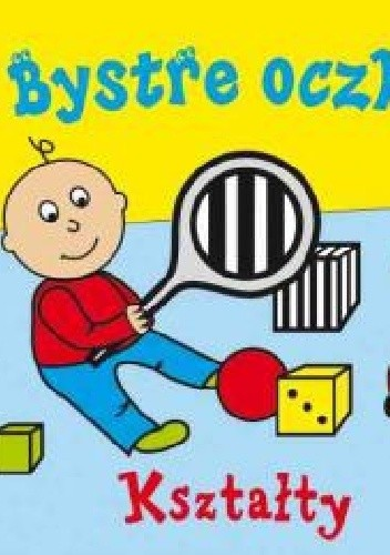 Okładka książki Bystre oczka. Kształty
