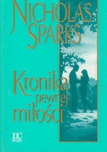 Okładka książki Kronika pewnej miłości