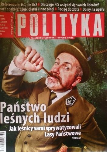 Okładka książki Polityka, nr 36/2015