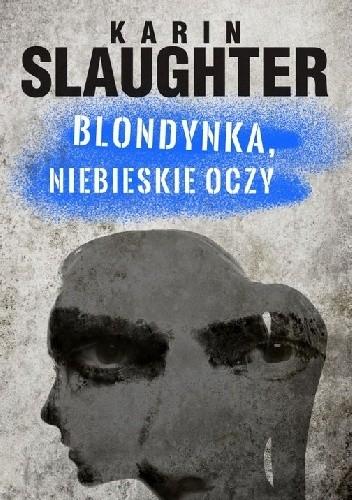 Okładka książki Blondynka, niebieskie oczy