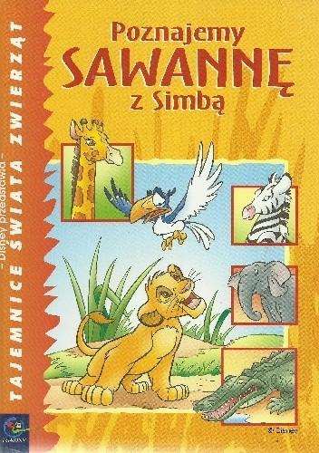 Okładka książki Poznajemy sawannę z Simbą
