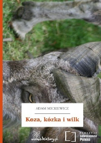 Okładka książki Koza, kózka i wilk