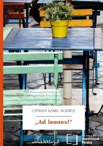 "Okładka książki ""Ad leones!"""