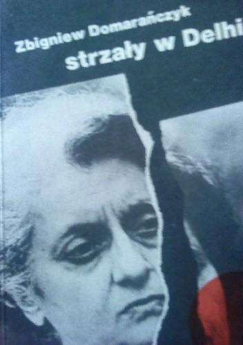 Okładka książki strzały w Delhi