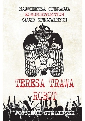 Okładka książki Teresa, Trawa, Robot