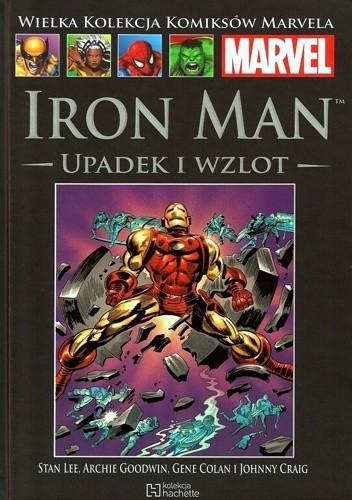 Okładka książki Iron Man: Upadek i wzlot